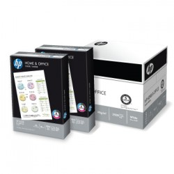 Papel Fotocopia A4 80gr HP Home Office 5x500fls