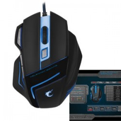 Halfmman Huge Fire Breath Gaming Mouse